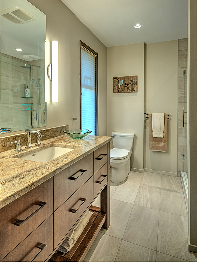 Baynes Bathroom Renovation in Victoria | Rob-Ron Construction